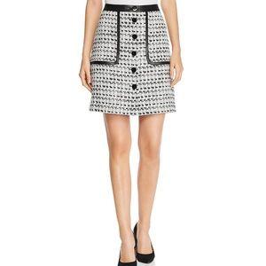 NWT Karl lagerfeld tweed A line skirt